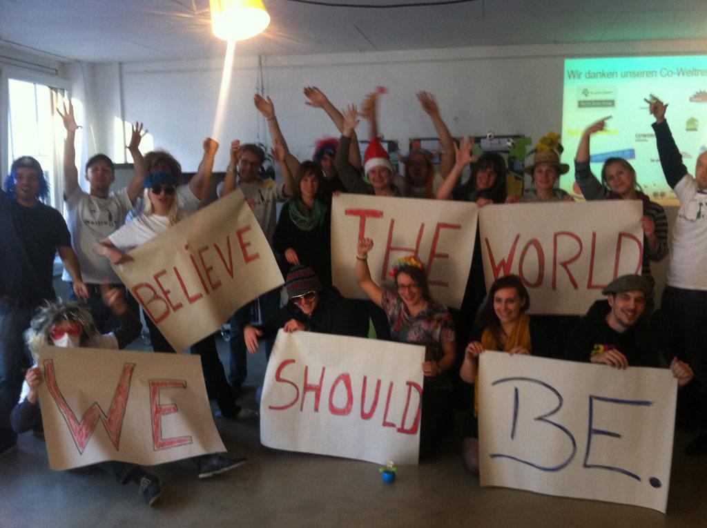Impression des WeltretterJam Nürnberg 2012