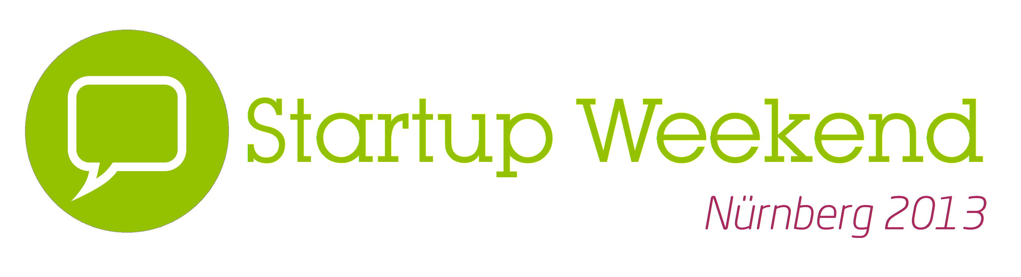 Veranstaltungstipp: Startup Weekend Nürnberg 2013