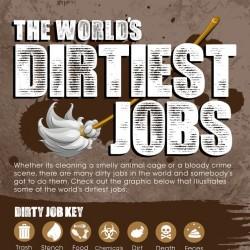 Müll, Dreck und Fäkalien: Die dreckigsten Jobs der Welt [Infografik]