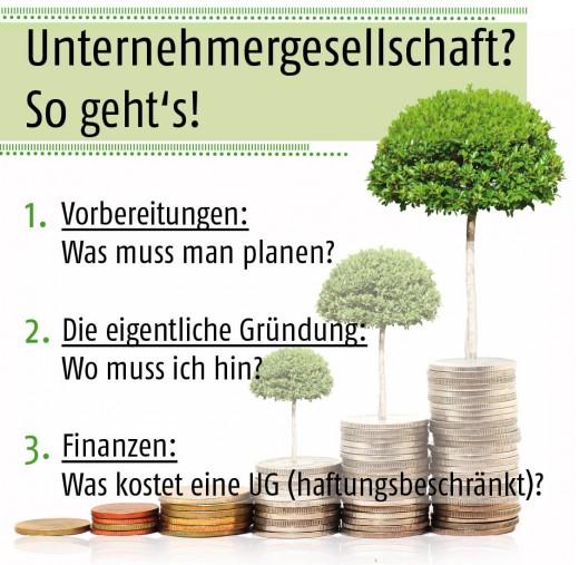 Die Planung & Gründung einer UG in 3 Stufen!