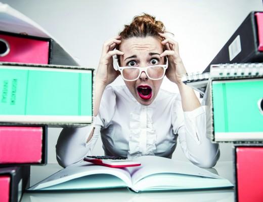 Gestresste Mitarbeiter? 5 Tipps für mehr Motivation! [Infografik]