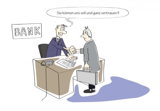 Vom fehlenden Vertrauen in der Geschäftswelt ... [Kolumne]