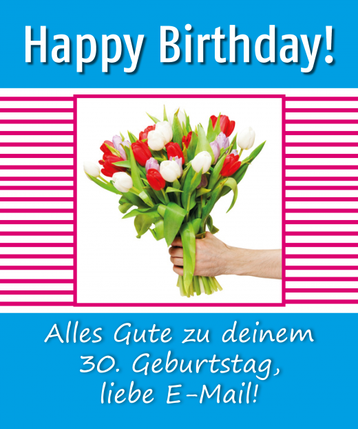 Happy Birthday, liebe E-Mail!