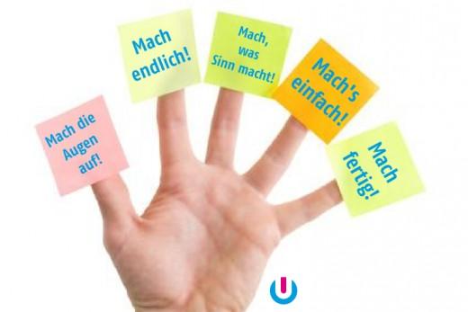 Krisenmanagement mit der 5-Finger-Methode: Machen statt reden!