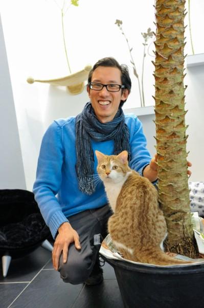 "Start-up-Interview mit dem Café Katzentempel: ""Hier leben 6 Katzen!"""