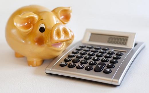 cochon d'épargne calculatrice