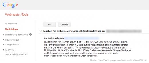 Google Update: mobile friendly Webseiten ranken besser!