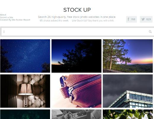 Stockup CC0-Stockfoto-Suche