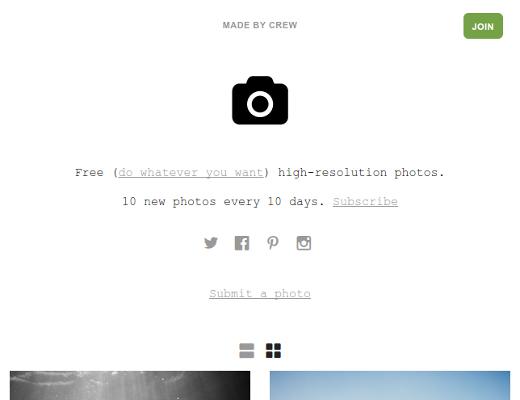 Unsplash - freie HD-Fotos
