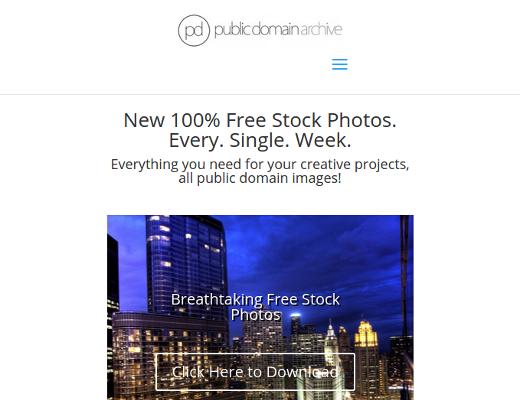 Freies Public Domain Archive