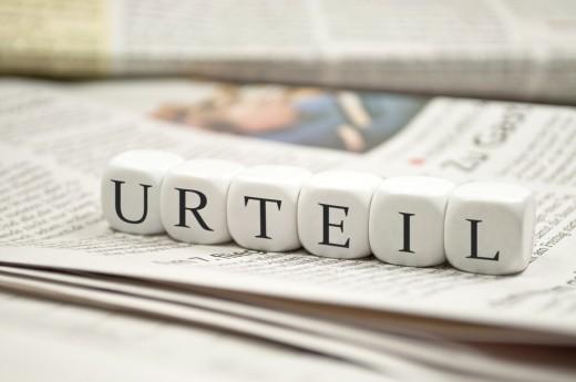 Wirtschaftsrecht: Urteile im August & September 2015