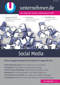epaper unternehmer.de social media