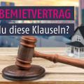 Bau-, Miet- und Maklerrecht: Urteile im Januar 2017