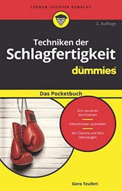 Buchtipp: Techniken der Schlagfertigkeit für Dummies -Das Pocketbuch