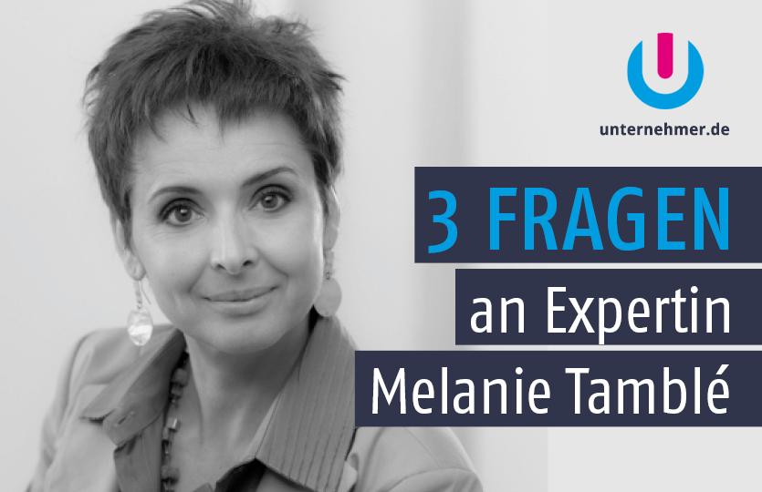 Content-Marketing: Melanie Tamblé im Experten-Interview