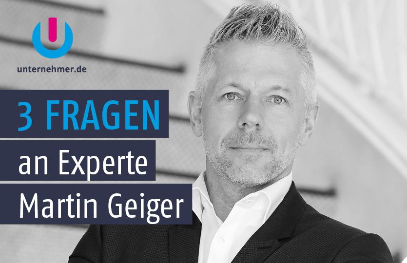 Produktivität: Martin Geiger im Experten-Interview