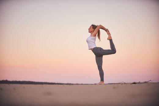Business Yoga: der Tänzer