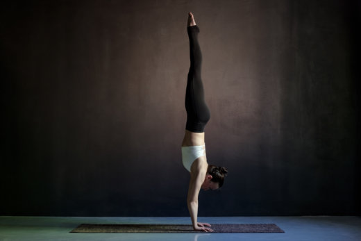 Business-Yoga: Handstand