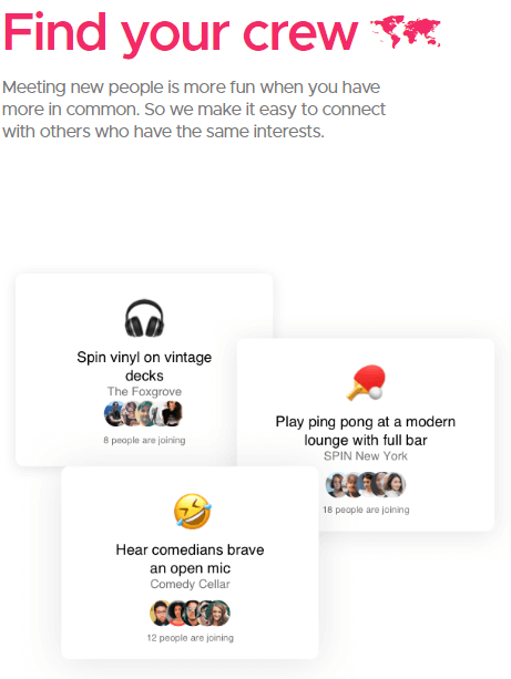Google Shoelace : Interessen