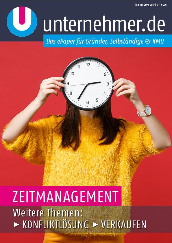 ePaper von unternehmer.de - Zeitmanagement