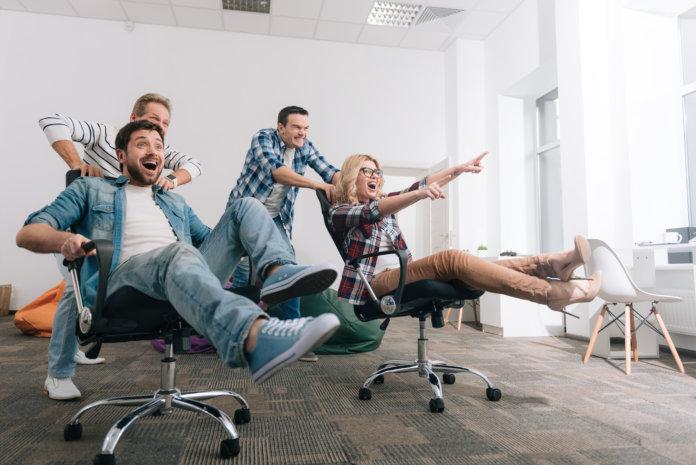Bürolympics: 4 Ideen für mehr Spaß im Büro