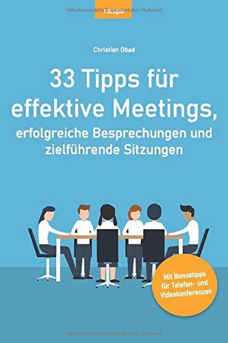 Buchtipp: 33 Tipps für effektive Meetings