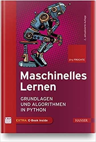 Buchtipp: Maschinelles Lernen