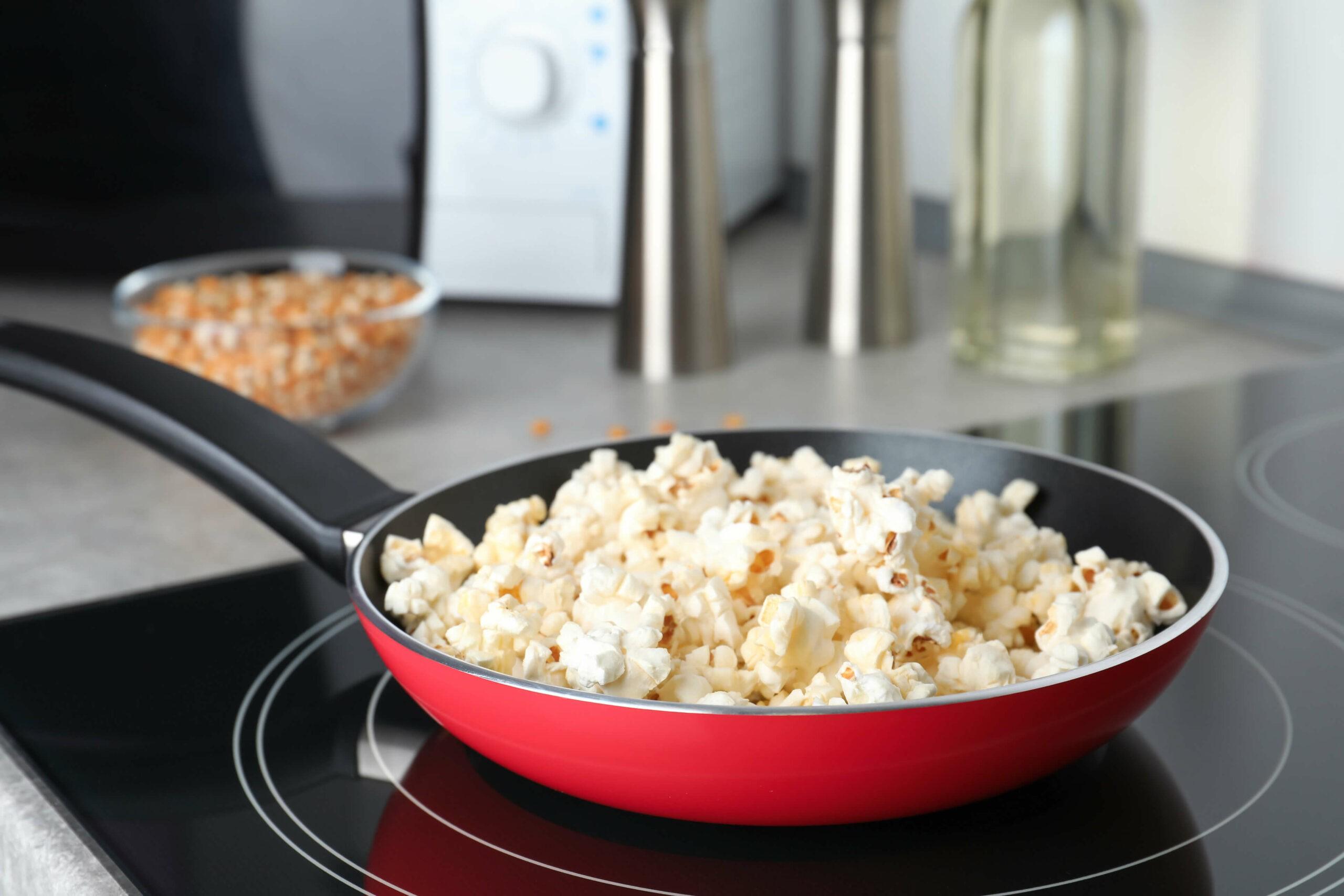 Ideen für deinen Bürosnack: Popcorn