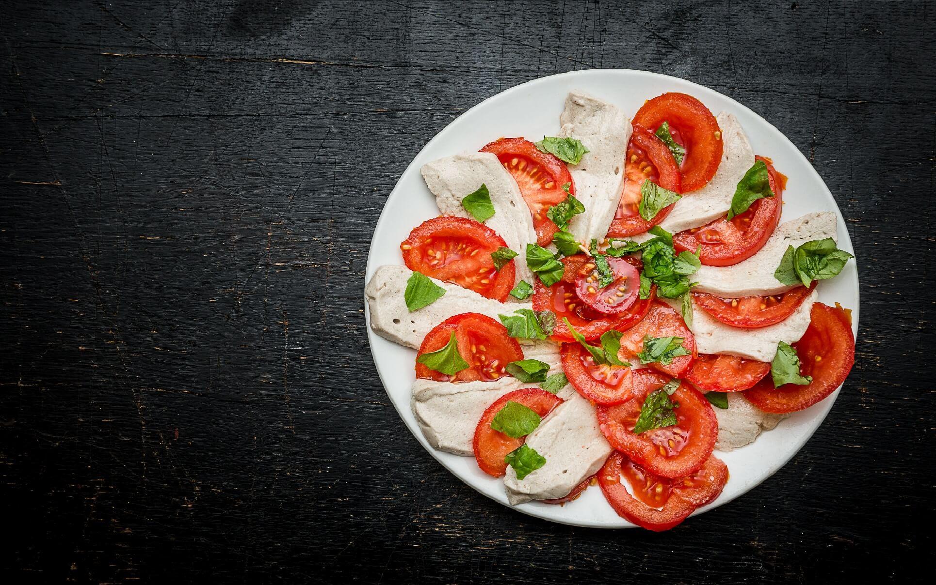 Ideen für deinen Bürosnack: Tomate-Mozzarella