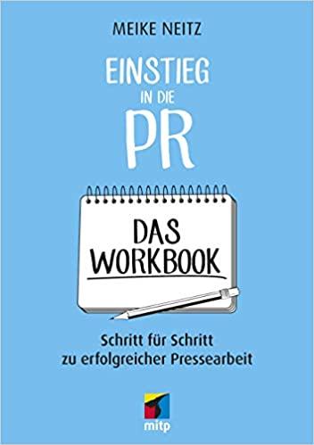 Unser Buchtipp: Einstieg in die PR - Das Workbook