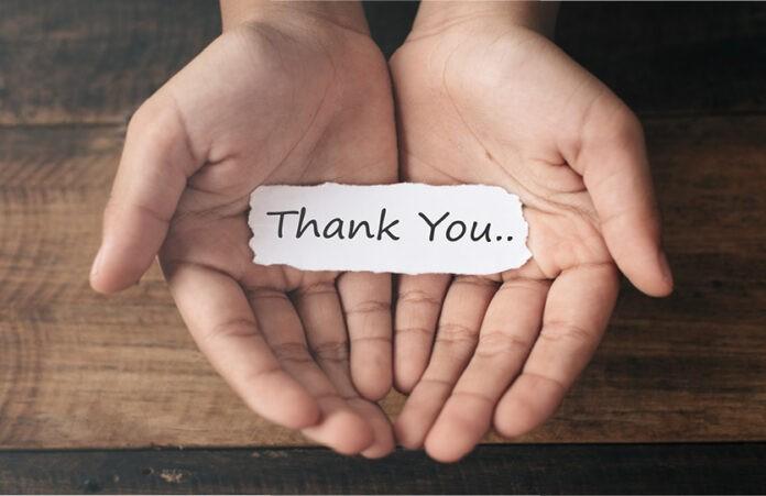 """""""Danke"""" ist mehr als nur eine Motivationsspritze"""
