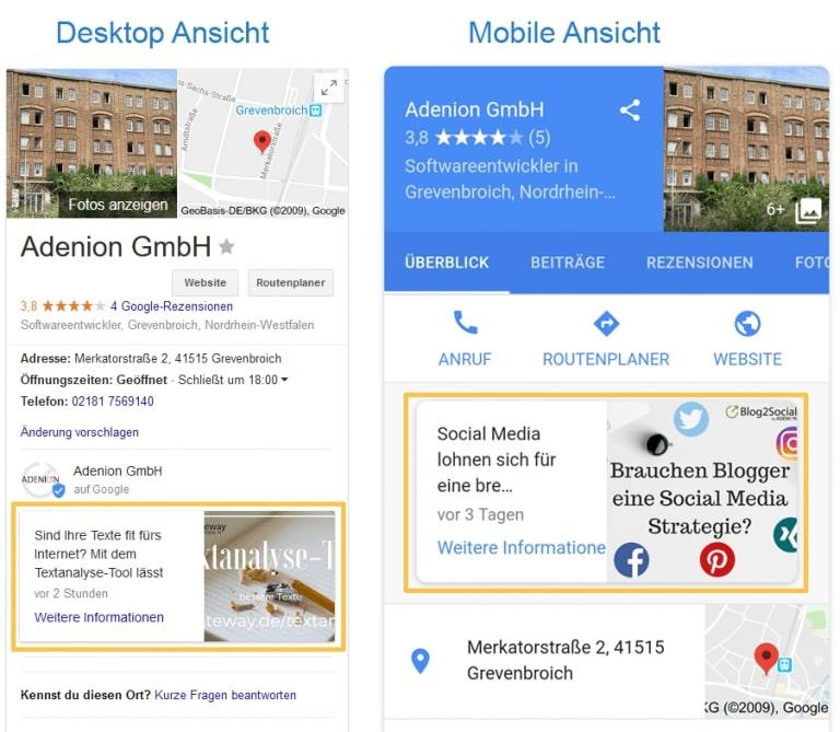 Google My Business: Die besten Tipps für dein Unternehmen [+Infografik]