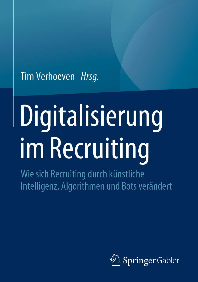 Cover des Buchs: Digitalisierung im Recruiting