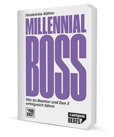 Cover des Buchs: Millennial-Boss