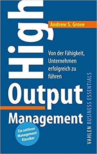 Buchtipp: High Output Management