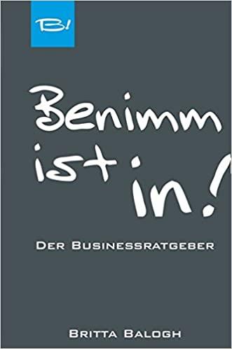 Buchtipp - Benimm ist in!