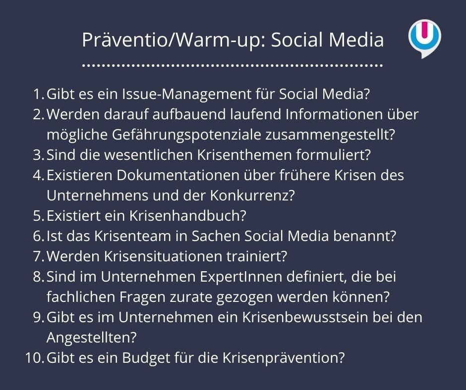Präventio: Social Media