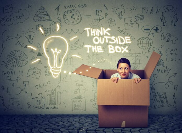 Think outside the box! So wirst du wieder kreativ & innovativ