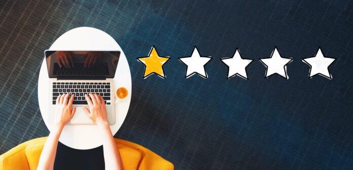 Wie du mit negativen Online-Bewertungen umgehst